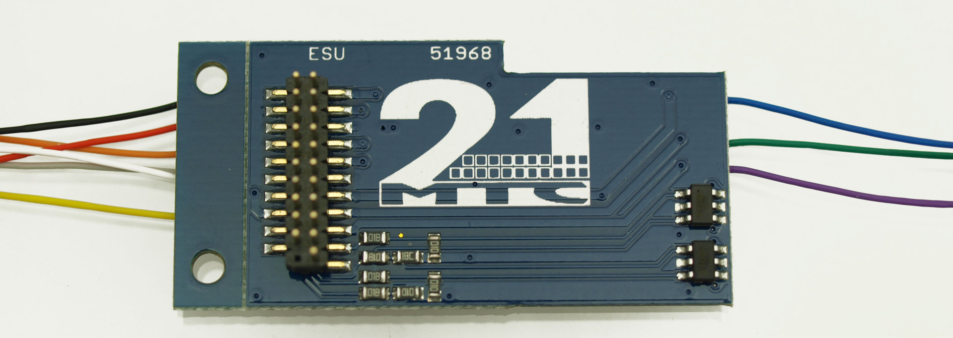 für ESU Adapterplatine für 21 MTC Schnittstelle Märklin und Uhlenbrock