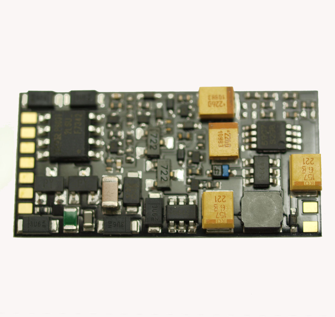 ZIMO MX645P16 Sounddecoder mit PluX16 Schnittstelle 1,2A Neu 3W MM DCC OVP